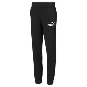 Thumbnail 1 of Boy's Essentials Sweatpants, Cotton Black, medium