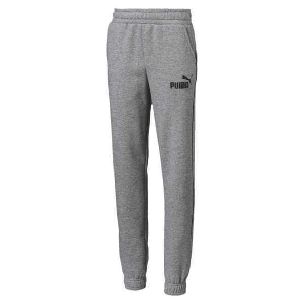 Essentials Boys' Sweatpants, Medium Gray Heather, large