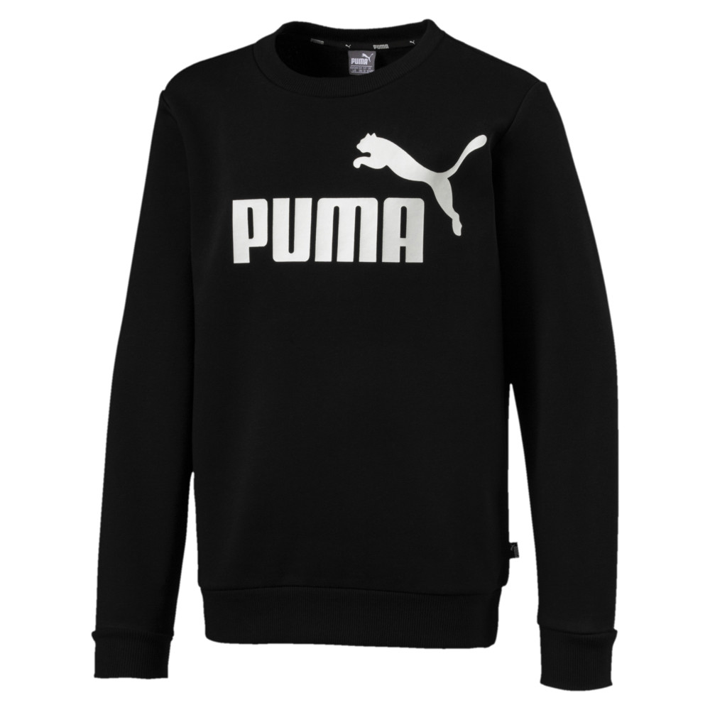 Image Puma Essential Logo Boys' Sweater #1