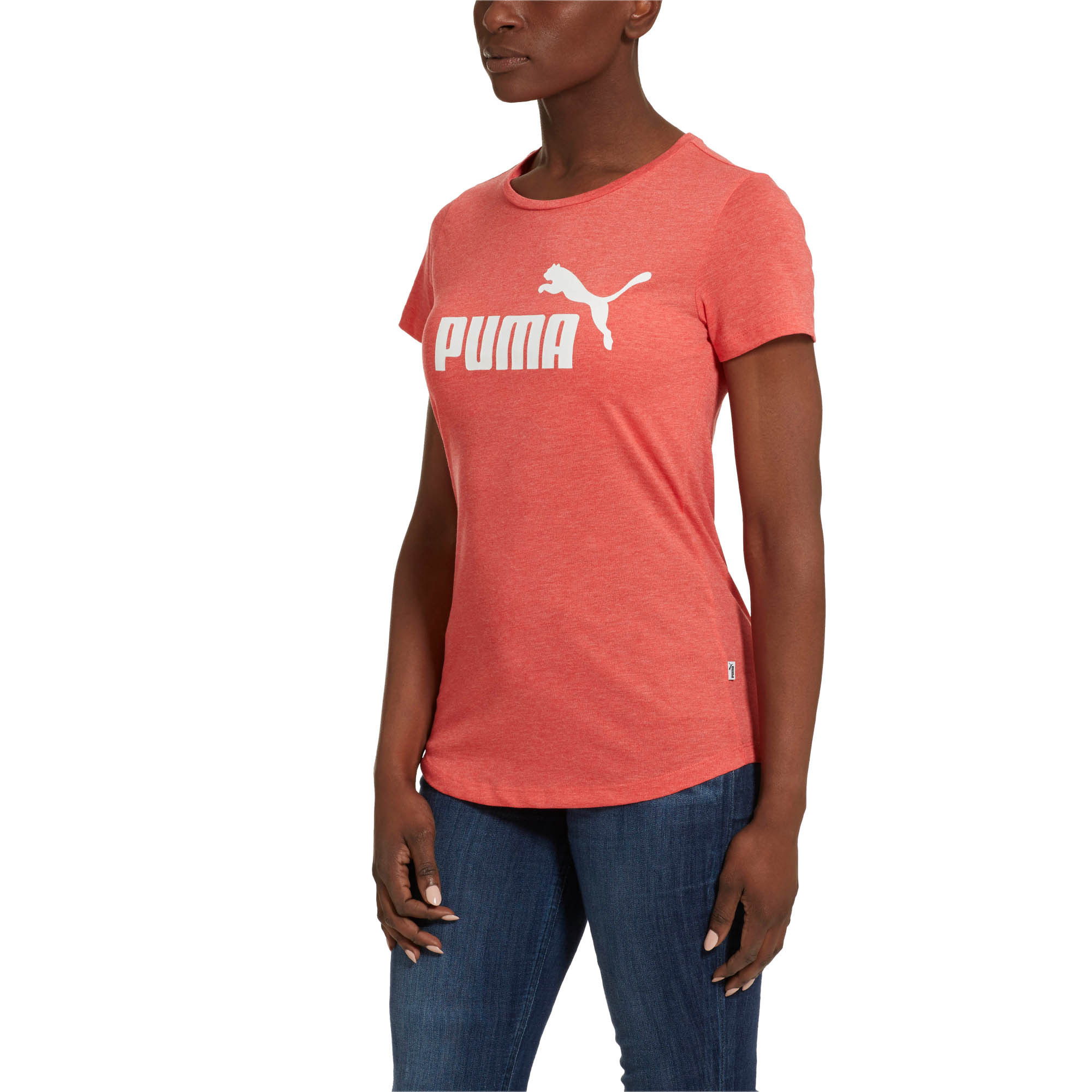 PUMA-Essentials-Women-039-s-Heather-Tee-Women-Tee-Basics thumbnail 42