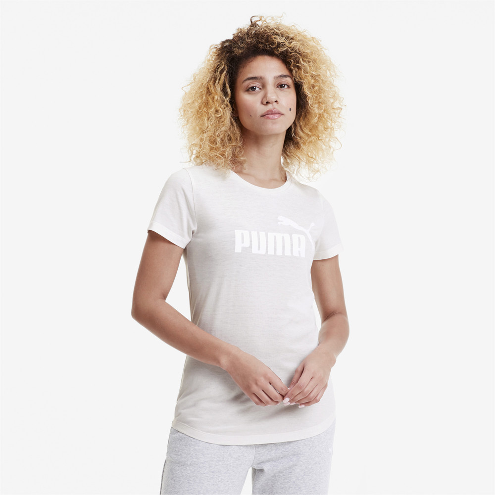 Изображение Puma Футболка Essentials+ Heather Tee #1