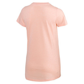 Thumbnail 5 of Essentials Heather Women's Tee, Peach Bud Heather, medium