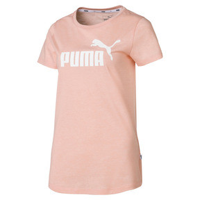 Thumbnail 4 of Essentials Heather Women's Tee, Peach Bud Heather, medium