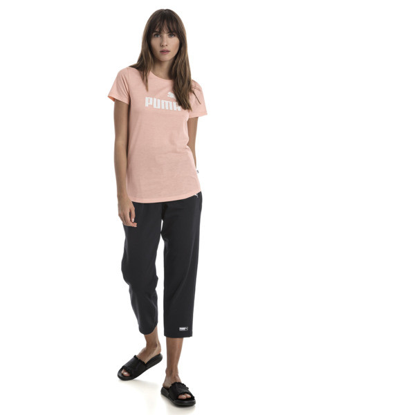Essentials Heather Women's Tee, Peach Bud Heather, large