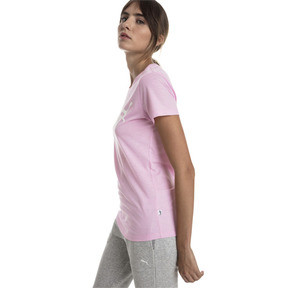 Thumbnail 1 of T-Shirt Essentials Heather pour femme, Pale Pink Heather, medium