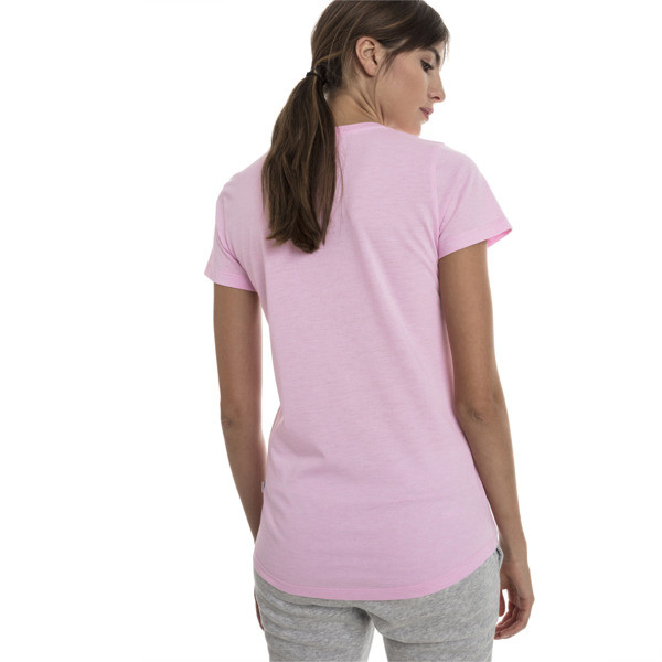 T-Shirt Essentials Heather pour femme, Pale Pink Heather, large