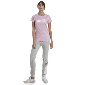 Thumbnail 3 of T-Shirt Essentials Heather pour femme, Pale Pink Heather, medium