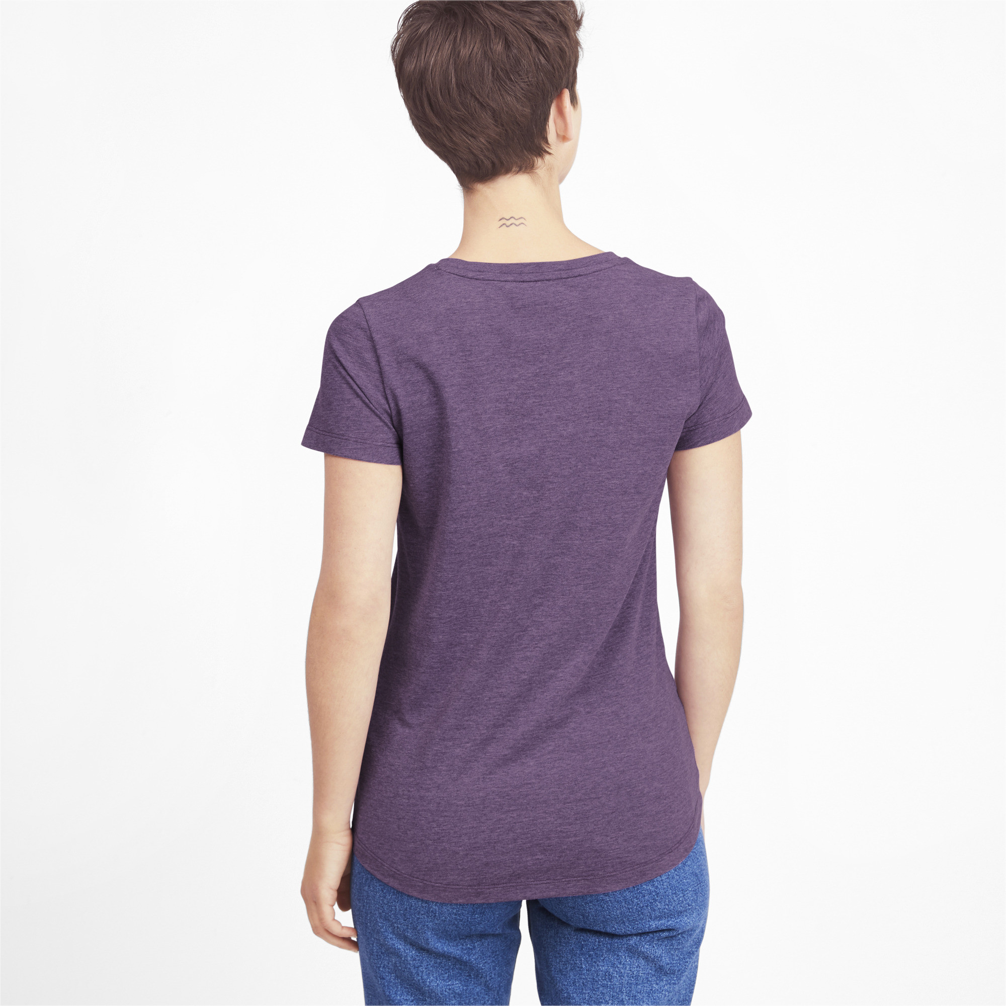 PUMA-Essentials-Women-039-s-Heather-Tee-Women-Tee-Basics thumbnail 19