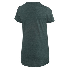 Thumbnail 4 of Essentials Heather Women's Tee, Ponderosa Pine Heather, medium