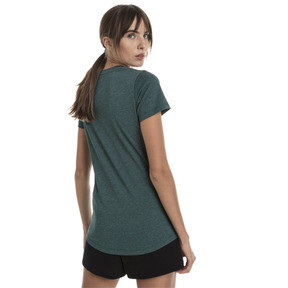 Thumbnail 3 of Essentials Heather Women's Tee, Ponderosa Pine Heather, medium