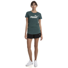 Thumbnail 5 of Essentials Heather Women's Tee, Ponderosa Pine Heather, medium