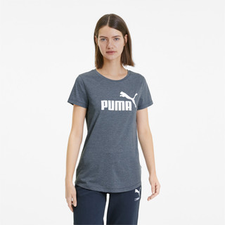Image PUMA Camiseta Essentials Heather Feminina