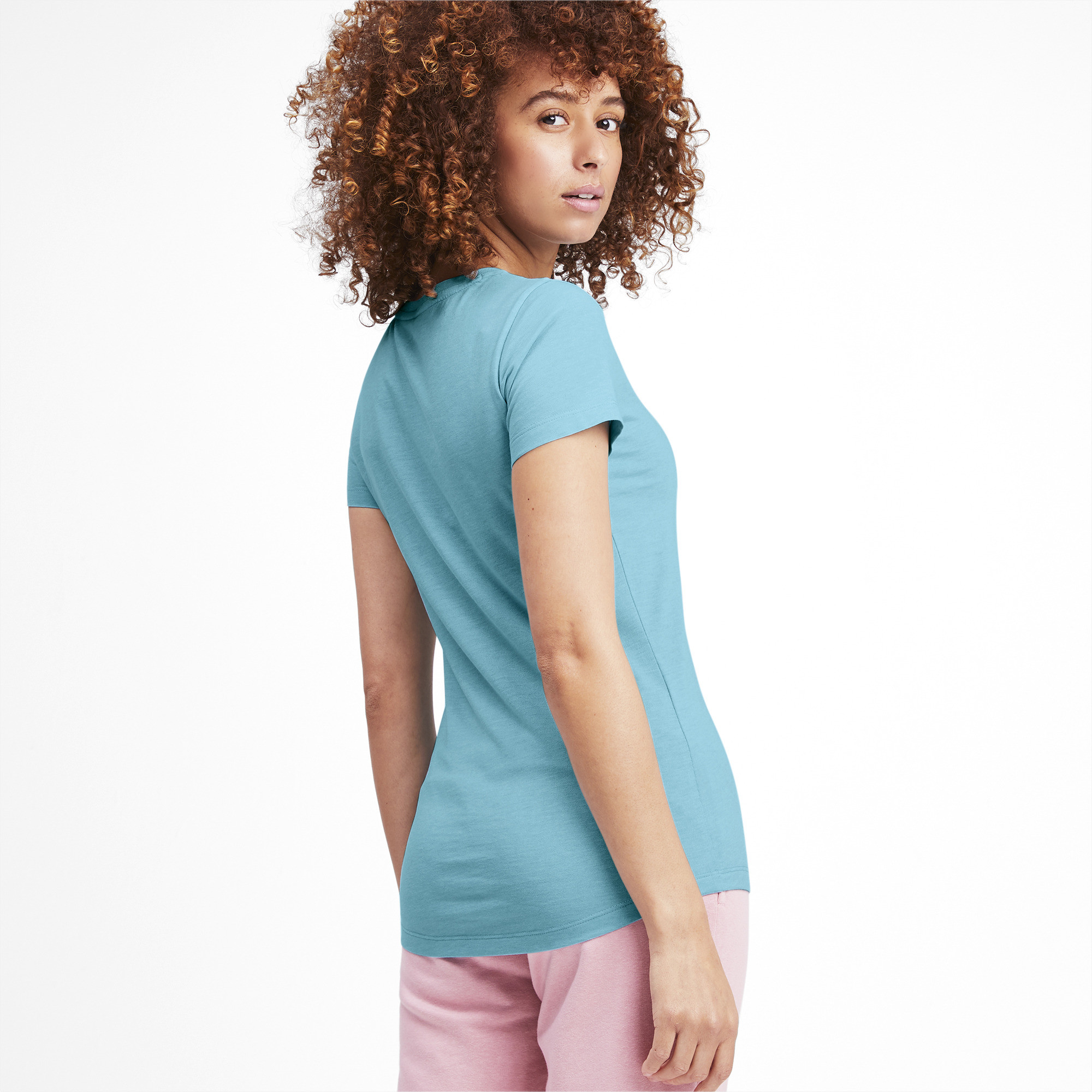 PUMA-Essentials-Women-039-s-Heather-Tee-Women-Tee-Basics thumbnail 53