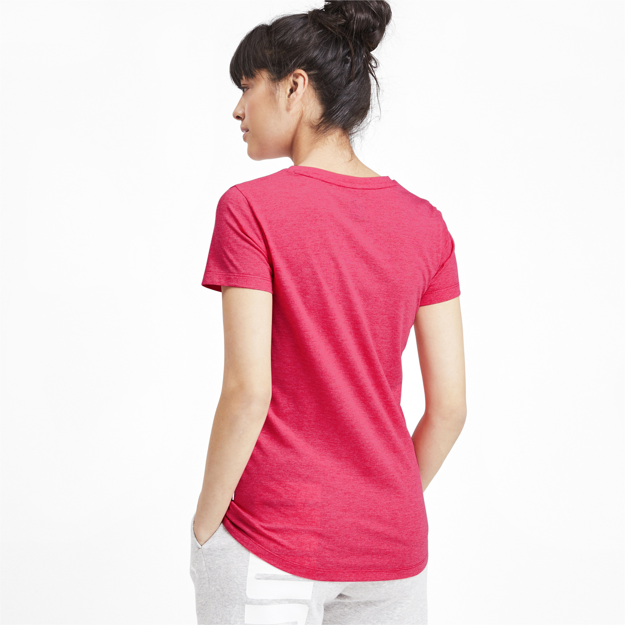 PUMA-Essentials-Women-039-s-Heather-Tee-Women-Tee-Basics thumbnail 30