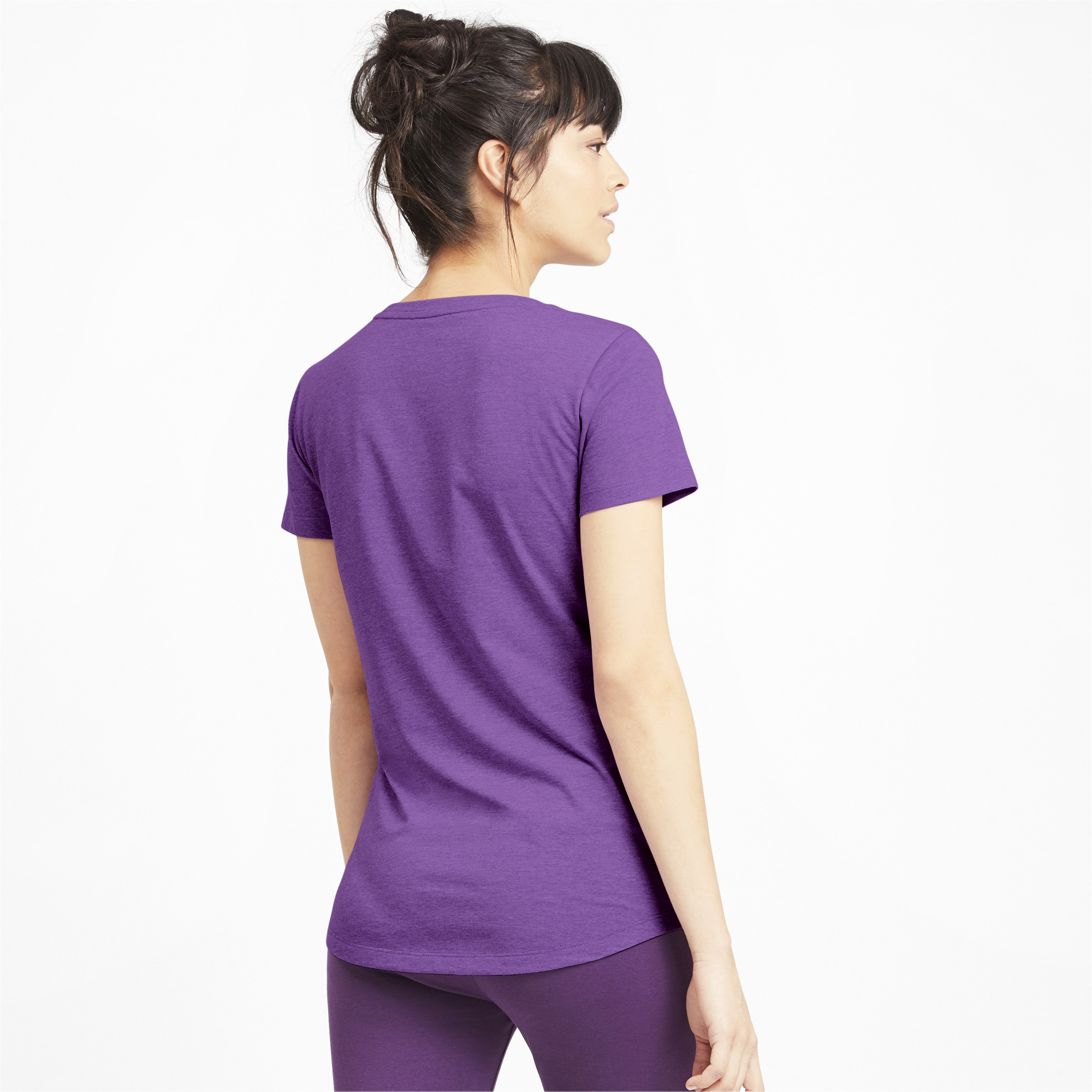 PUMA-Essentials-Women-039-s-Heather-Tee-Women-Tee-Basics thumbnail 35