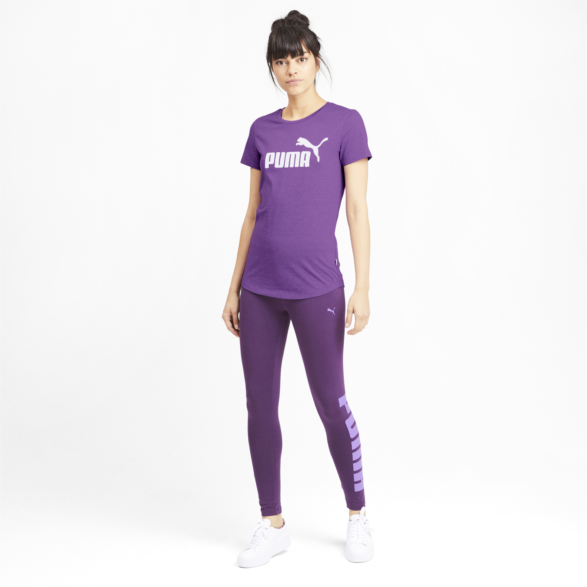 PUMA-Essentials-Women-039-s-Heather-Tee-Women-Tee-Basics thumbnail 36