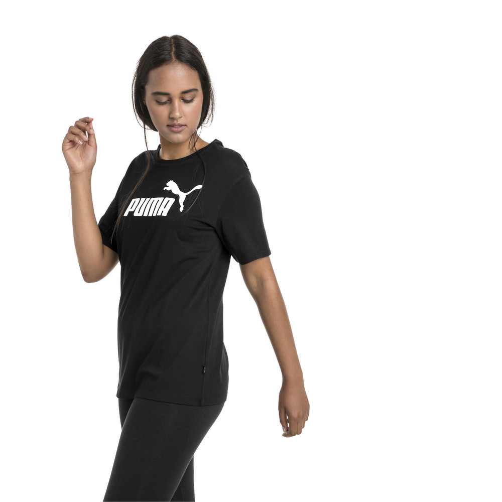 Image PUMA Essentials Logo Women's Boyfriend T-Shirt #2