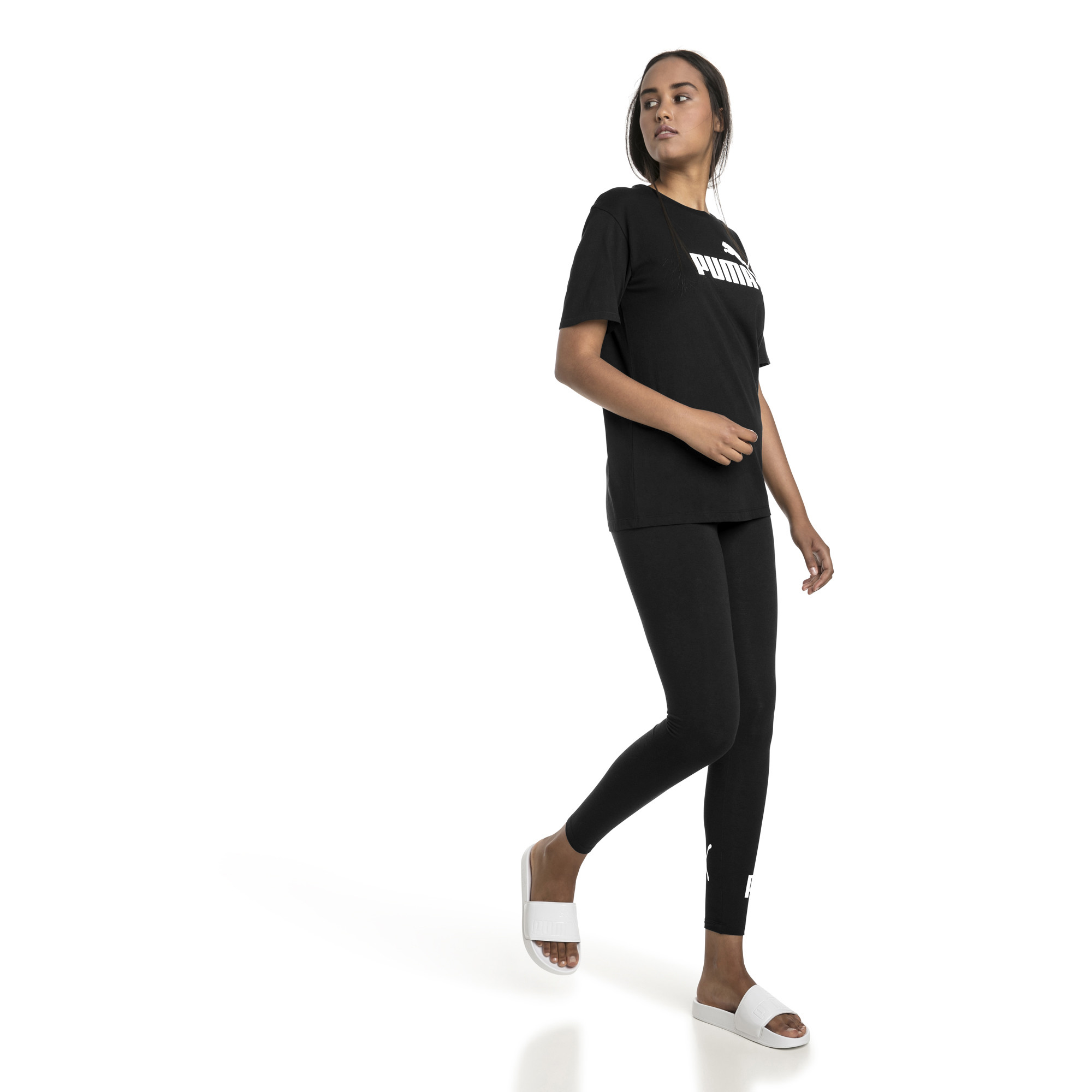 Image Puma Essentials Logo Women's Boyfriend T-Shirt #3