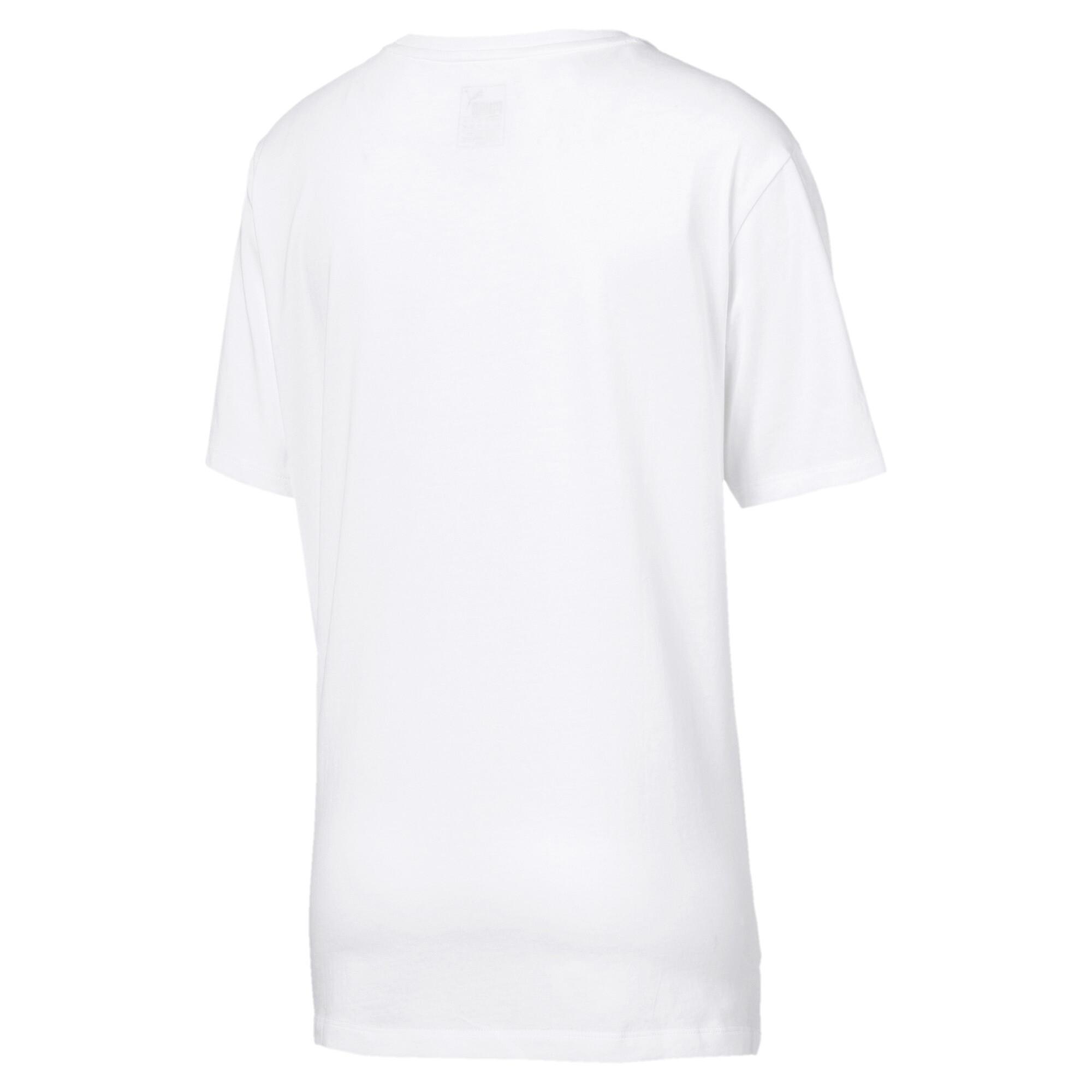 Image Puma Essentials Logo Women's Boyfriend T-Shirt #5