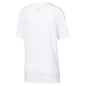 Thumbnail 5 of Women's Boyfriend Logo T-Shirt, Puma White, medium