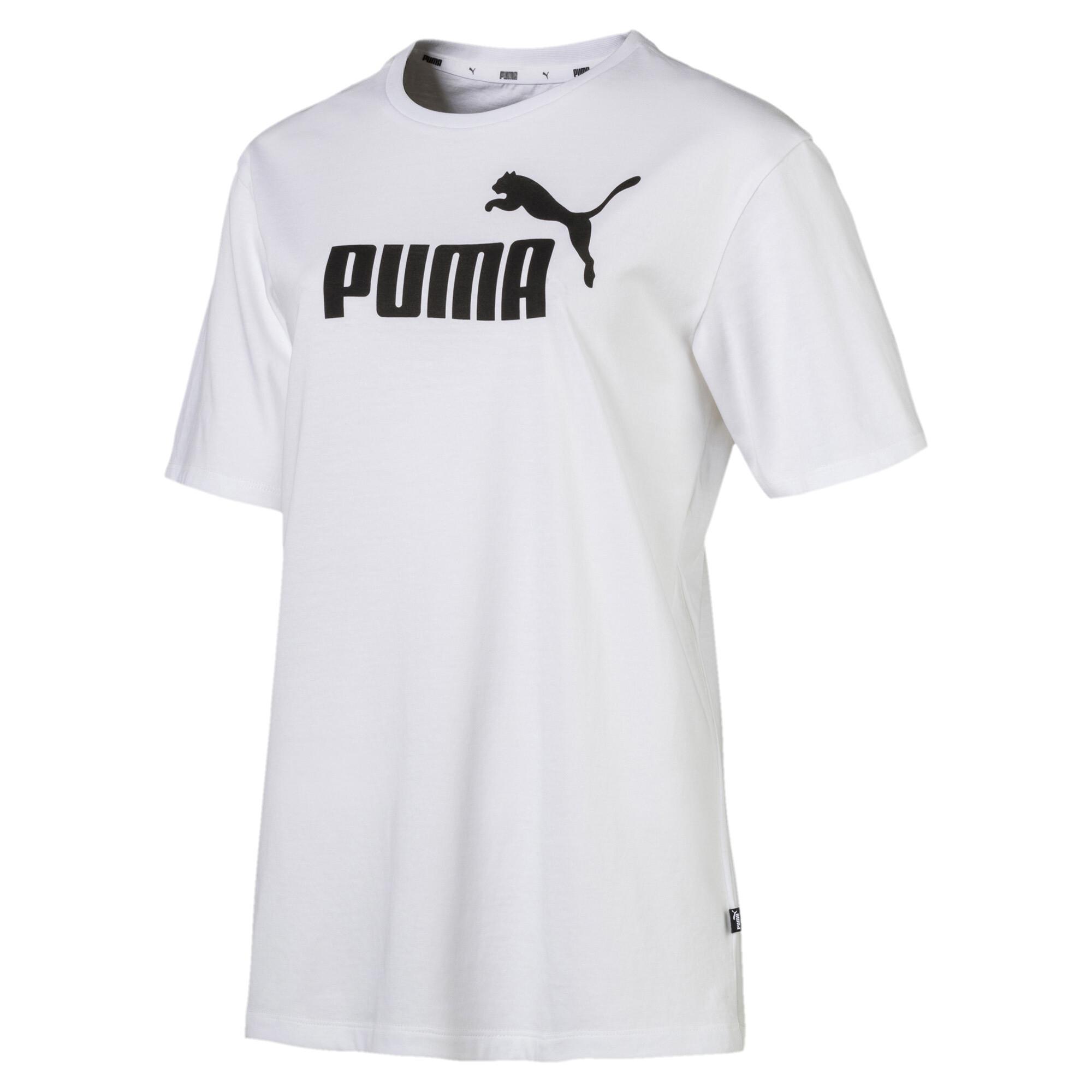 Image Puma Essentials Logo Women's Boyfriend T-Shirt #4