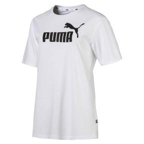 Thumbnail 4 of Women's Boyfriend Logo T-Shirt, Puma White, medium