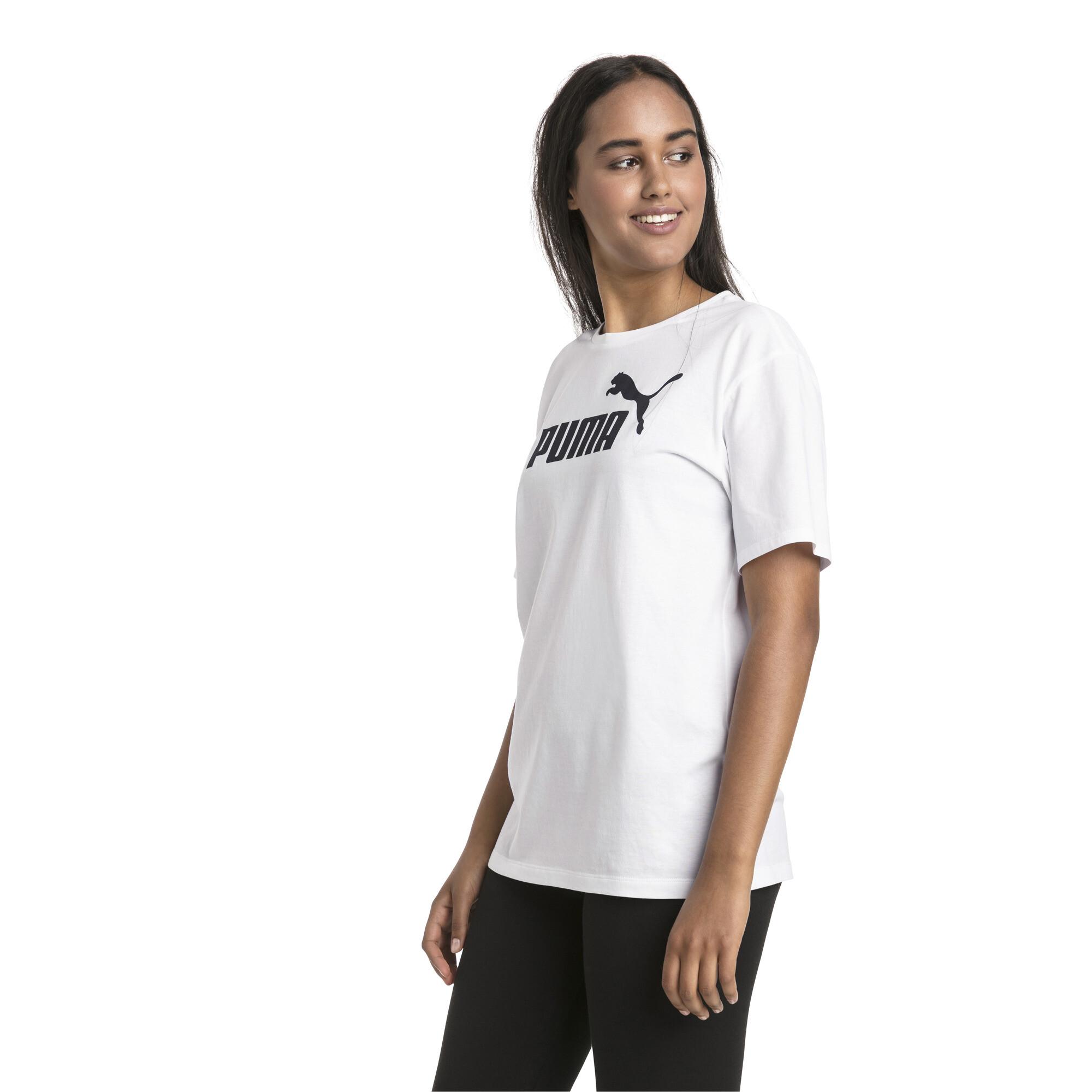 Activewear Tops Logo Womens Ladies Sports Fashion Boyfriend T-shirt Tee Puma Essential Shirts