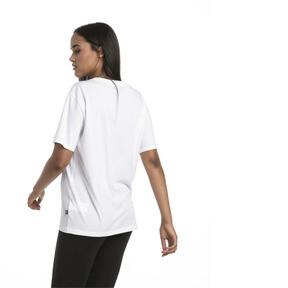 Thumbnail 2 of Women's Boyfriend Logo T-Shirt, Puma White, medium