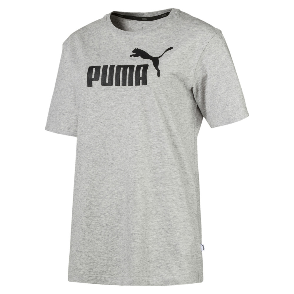 Image Puma Essentials Logo Women's Boyfriend T-Shirt #1