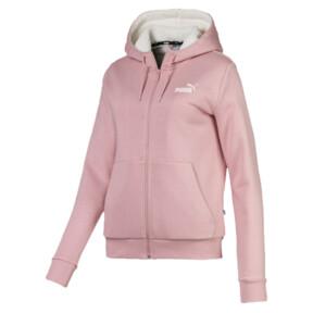 Essentials + Sherpa Women's Hooded Jacket