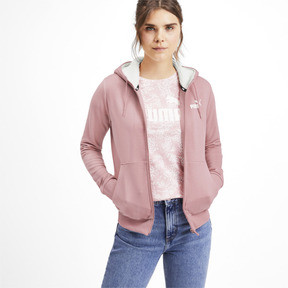 Thumbnail 1 of Essentials + Sherpa Women's Hooded Jacket, Bridal Rose, medium