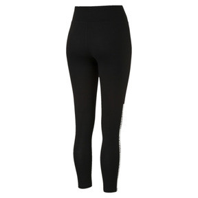 Thumbnail 3 of Tape Leggings, Cotton Black, medium