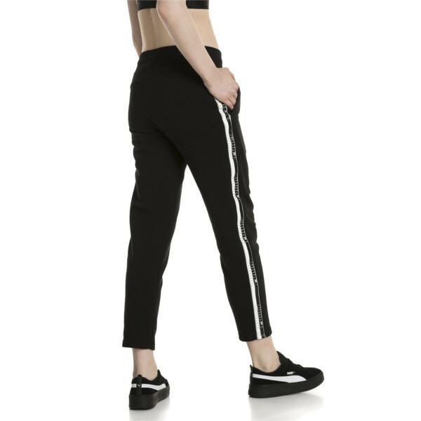 Tape Women's Pants, Cotton Black, large