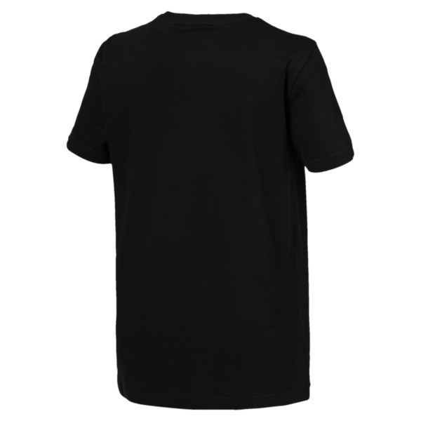 Jungen Classic T-Shirt, Puma Black, large