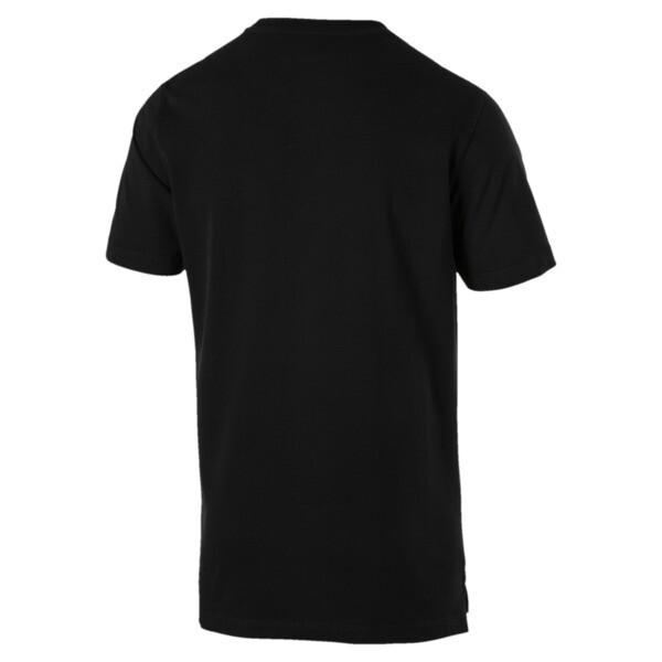 Men's Athletics Tee, Puma Black, large