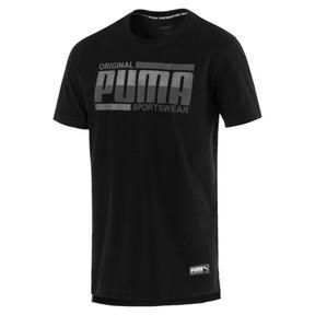 Thumbnail 1 of Men's Athletics Tee, Puma Black, medium