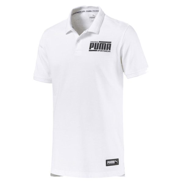 Athletics Polo, Puma White, large