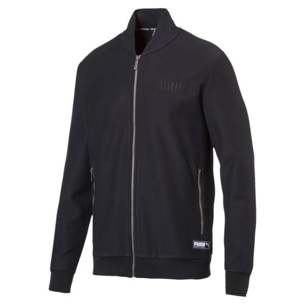 Athletic premium jacket, Cotton Black, large