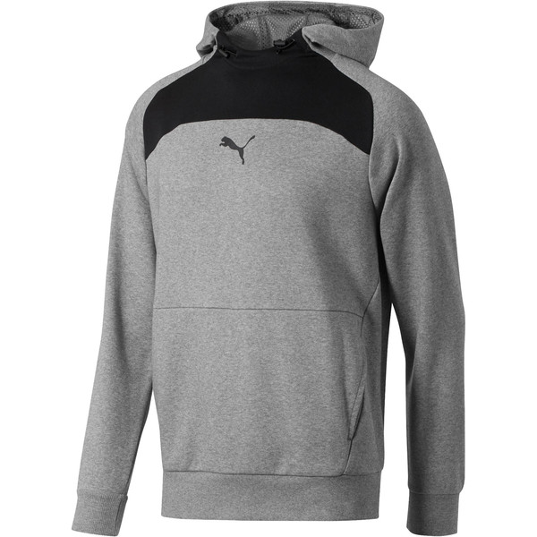 Modern Sports Hoodie, Medium Gray Heather, large