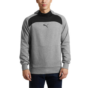 Thumbnail 2 of Modern Sports Hoodie, Medium Gray Heather, medium