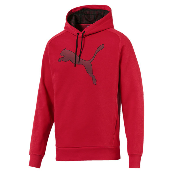 P48 Modern Sports Hoodie, Ribbon Red, large