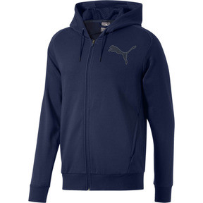 Thumbnail 1 of P48 Modern Sport FZ Hoodie, Peacoat, medium