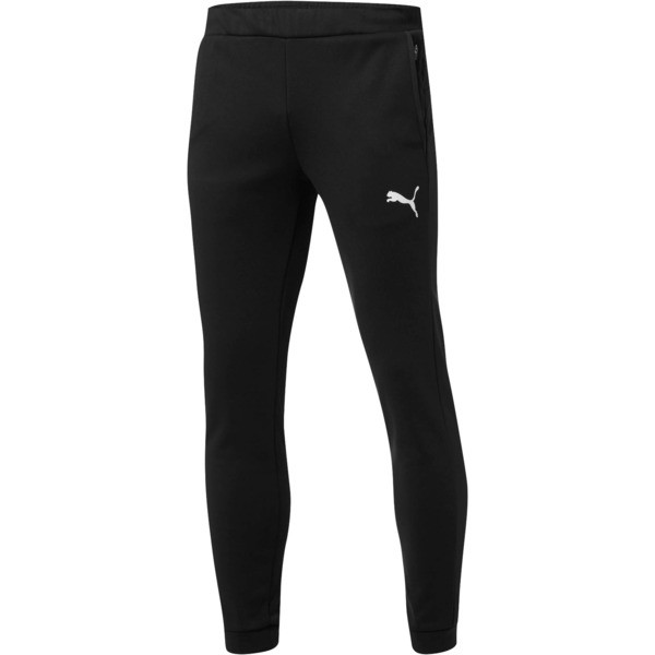 Tec Sports Warm Pants, Puma Black, large