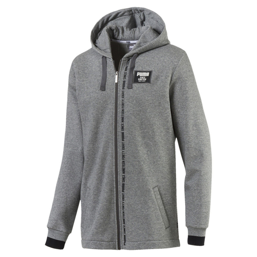Зображення Puma Толстовка Rebel Block FZ Hoody FL #1