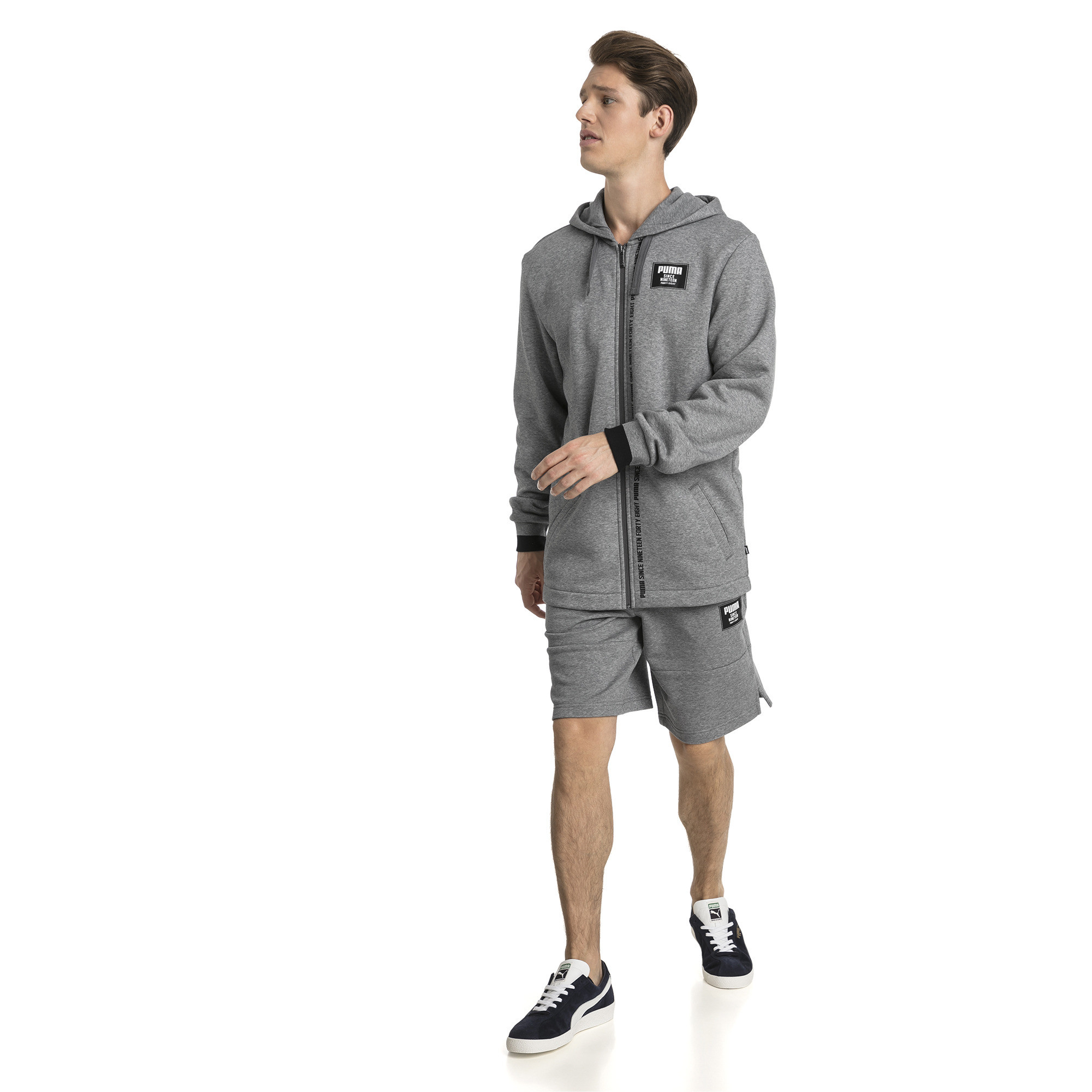 Image Puma Rebel Men's Block Shorts #3