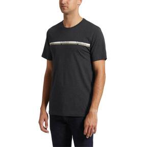 Thumbnail 2 of Tape T-Shirt, Dark Gray Heather, medium