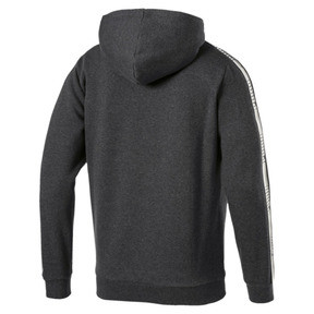 Thumbnail 3 of Men's Tape Fleece Hoodie, Dark Gray Heather, medium