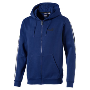Thumbnail 1 of Men's Tape Full Zip Fleece Hoodie, 27, medium