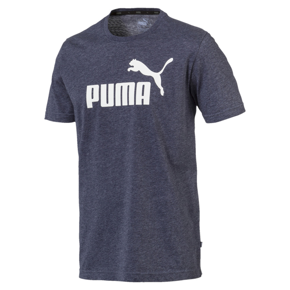 Image PUMA Camiseta Essentials+ Heather Masculina #1