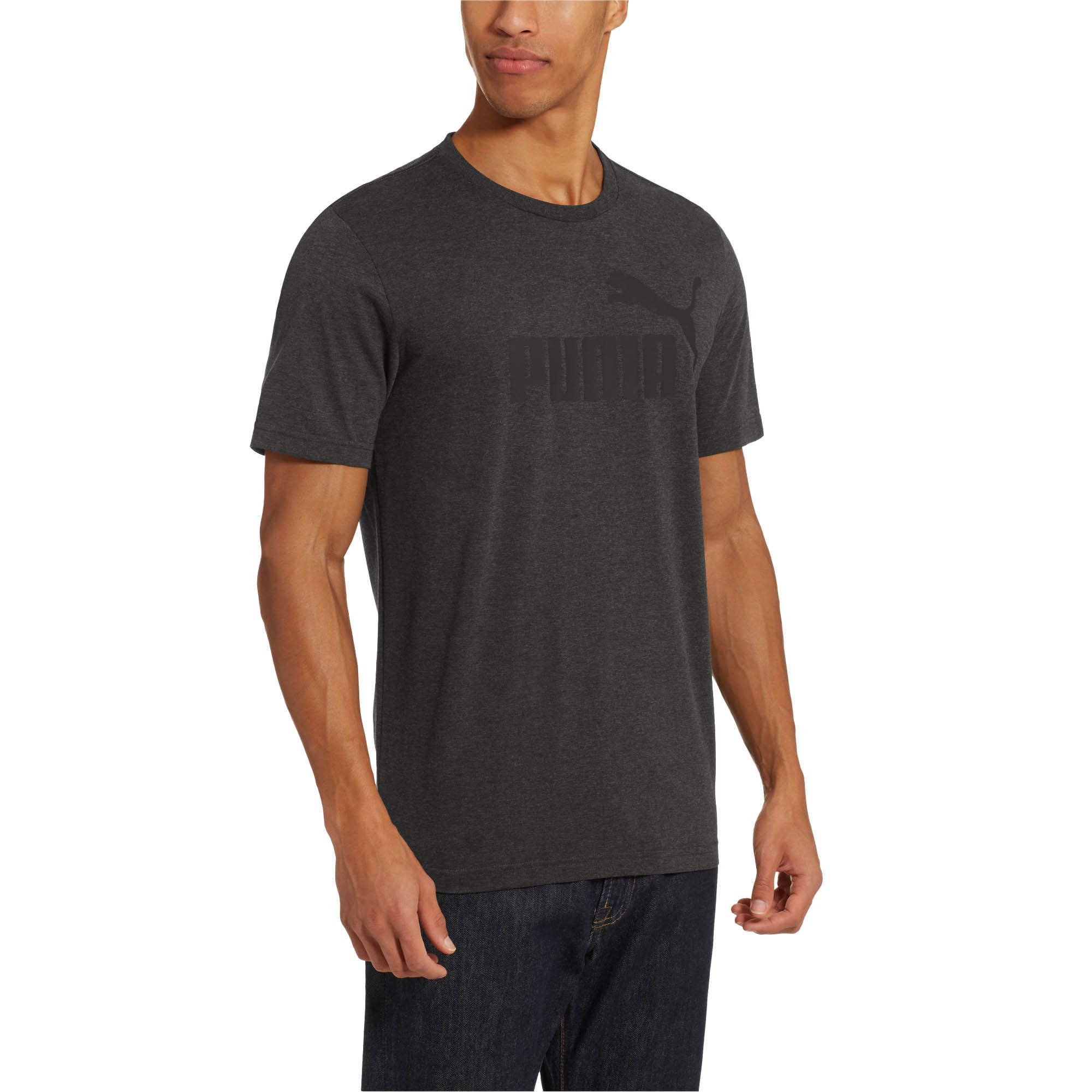 PUMA-Essentials-Heather-Tee-Men-Tee-Basics thumbnail 24